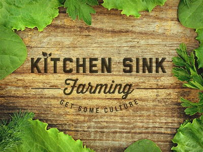Kitchen Sink Farming by Dina Rodriguez - Dribbble
