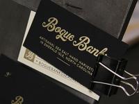 Bogue Banks Letterpress Business Cards