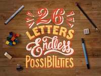 26 Letters Endless Possibilities