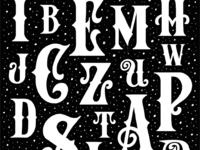 Victorian Alphabet Sneak Peak
