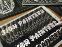 Learn Sign Painters Lettering