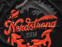 Nerdstrong Gym Shirt Design