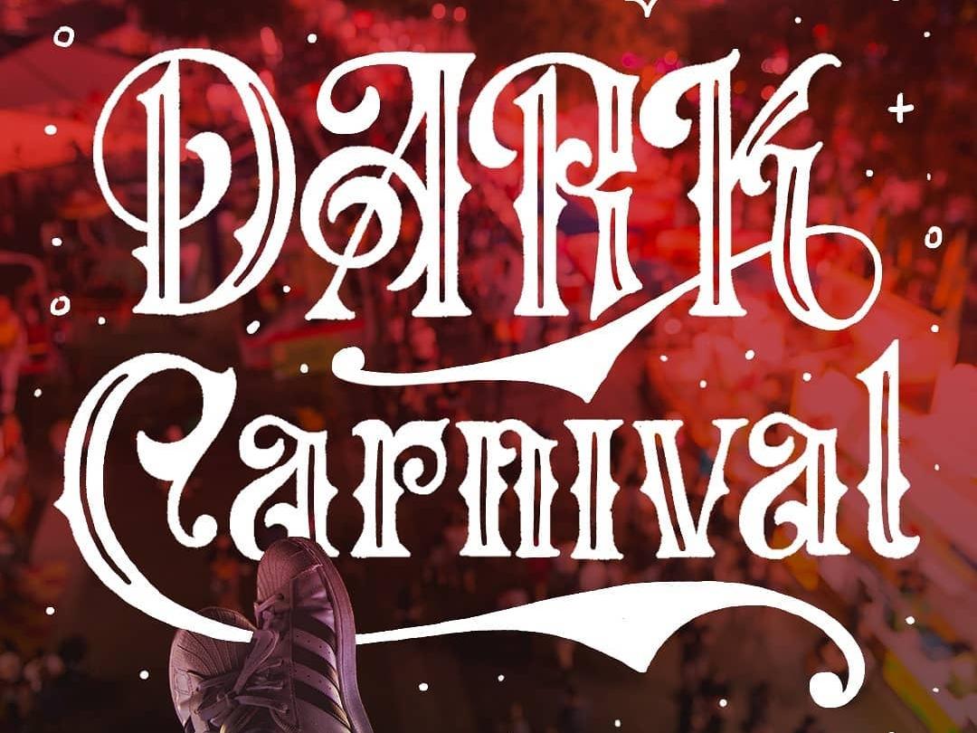Dark Carnival Workbook curls spurs serifs serif carnival spooky halloween design halloween flyer halloween bash halloween halloween carnival victorian workbook digital gothic black letter hand lettering type typography lettering