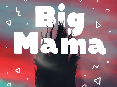 Big Mama Workbook digital book practice learning letters thicc thickness bold bold font sans serif font sans-serif sans serif geometric font geometric workbook design type hand lettering typography lettering