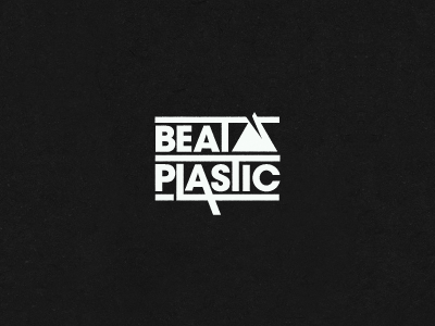 Beat Plastic logo band electronic