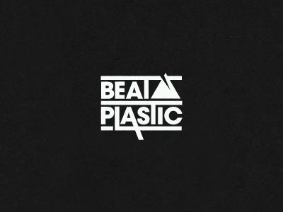 Beat Plastic logo band electronic