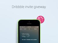Dribbble Invitation