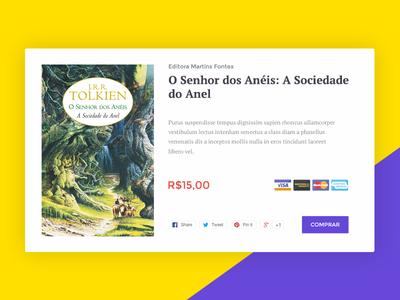 Bye Livro - Book Widget widget startup weekend ui web commerce store shop webdesign
