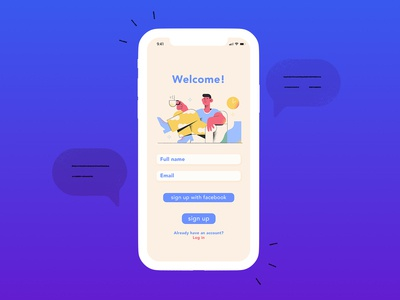 MenTalk App Sign Up