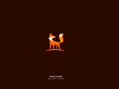 Smartware smart logo animal logo bird logo fox logo saas security logotype vector animal branding creative design illustration icon mark logo design gradient logo
