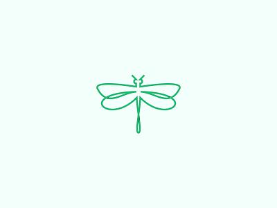 Dragonfly minimalist logo logo design concept linelogo animal icon mark logo insect creative design branding brand designer brand design animal logo design dragonfly