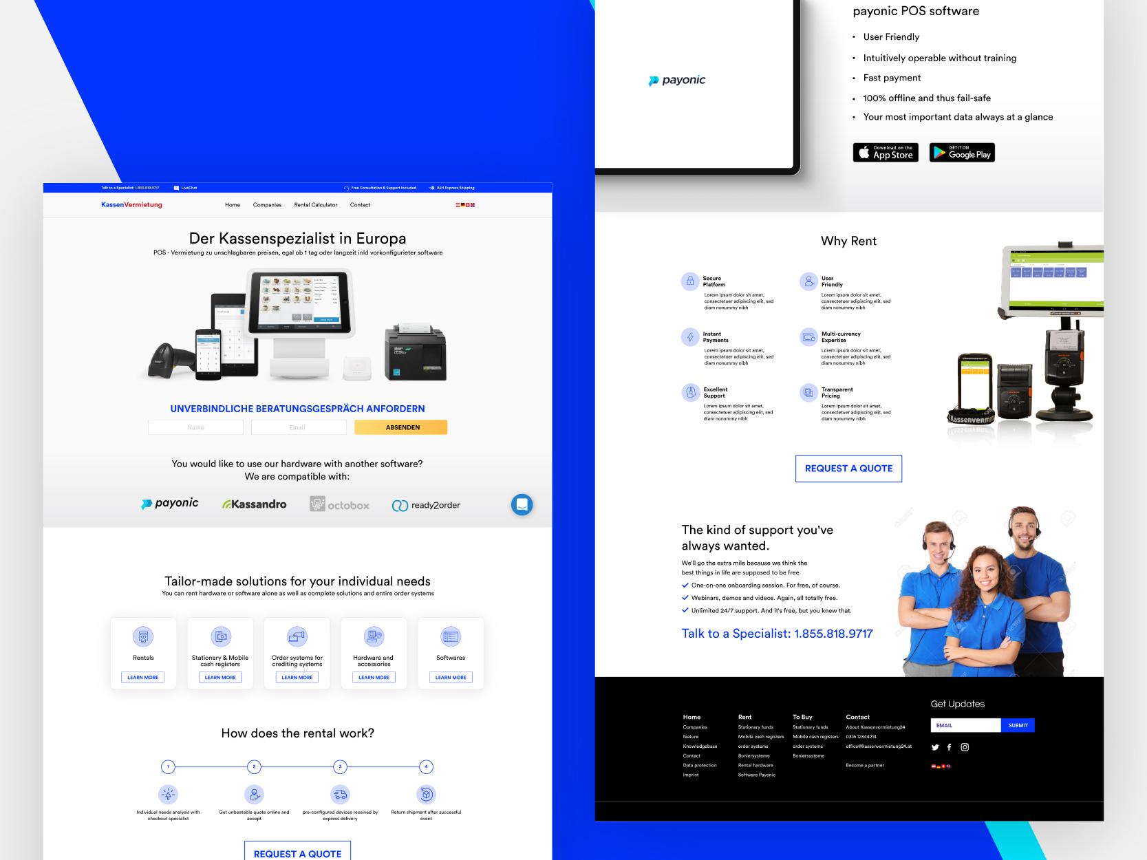 Brandvibe homepage graphic kassen