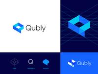 Qubly logo concept