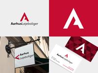 Aarhus Lejeboliger logo concept