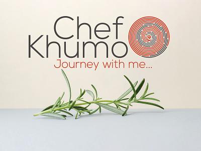Chef Khumo Logo design corporate branding logo design logo character design vector