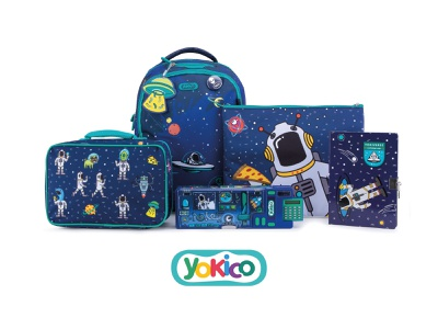 Yokico Space Adventure Products stationery design product design character design illustration