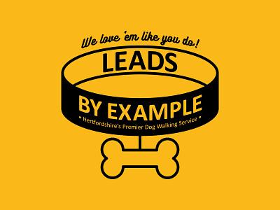 Dog Walking Logo illustration branding logo vector brand identity logo design