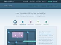 Chartbeat hud product page