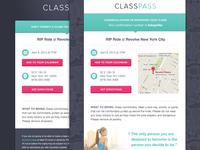 Classpass Email Templates