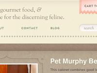 The discerning feline