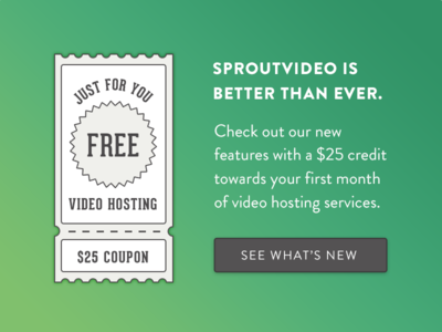 Meagan Fisher Projects Sproutvideo Dribbble