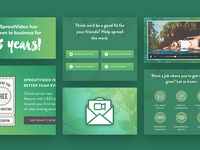 SproutVideo Jobs Page and Blog Redesign Case Study