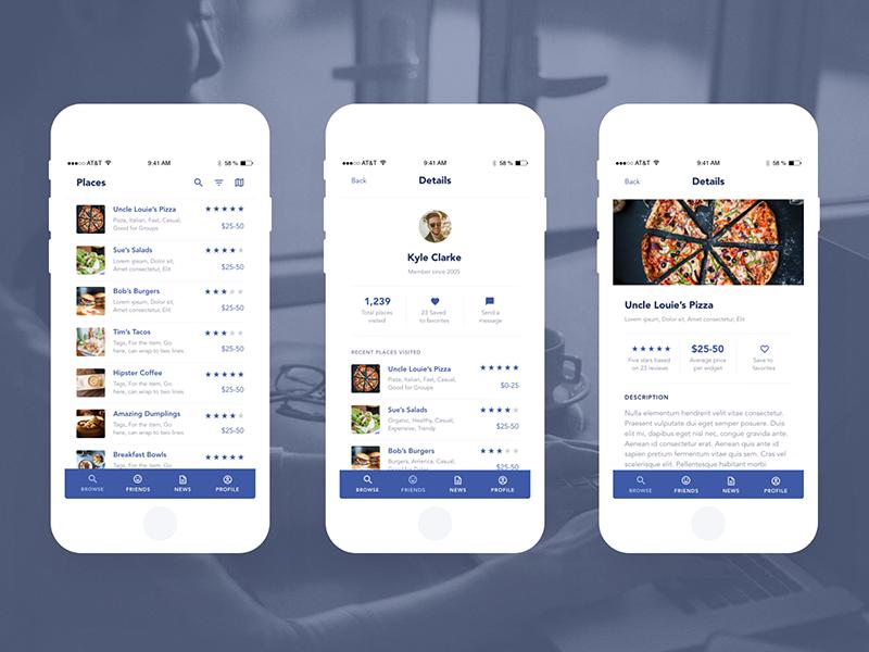 Starter UI Kit for AdobeXD owltastic mobile design web design startup download ui kit mobile freebies ui ux design iphone app mobile app adobe xd