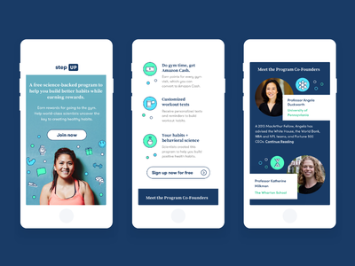 Creating Behavior Change for Good owltastic mobile design web design ux iphone ui science fitness behavior change for good university of pennsylvania wharton school of business mobile design responsive design marketing design