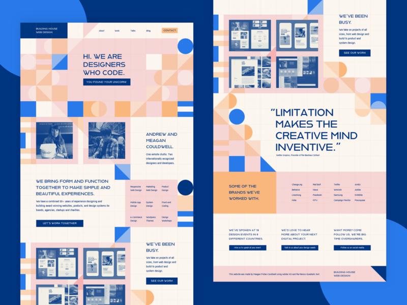 Adobe Hidden Treasures Design illustration pattern graphic design portfolio website user interface ui design web design landing page bauhaus hidden treasures adobe xd