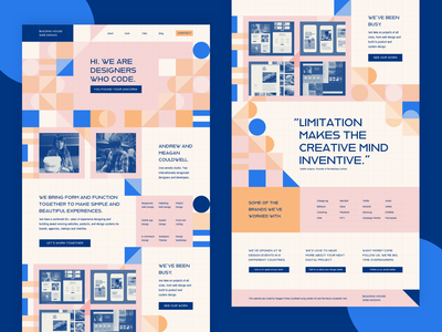 Adobe Hidden Treasures Design illustration pattern graphic design portfolio website user interface ui design web design landing page bauhaus hidden treasures adobe xd