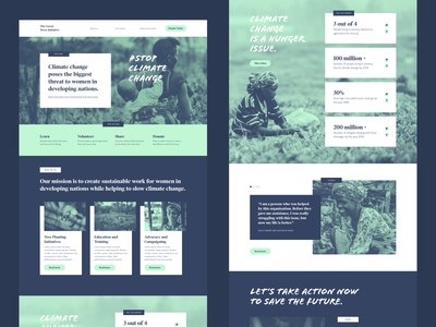 New non-profit UI Kit free template free ui kit free resource ui kits made with adobe xd responsive responsive website charity non-profit marketing website landing page adobe xd adobe