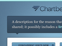 Coming soon from Chartbeat: awesomeness.