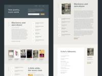 Verse Poetry Responsive Website Design inspiration literature book covers responsive website design responsive web design responsive ux design ui design typography poetry content design marketing design web design ux ui