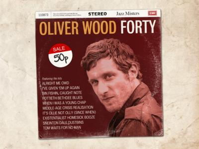 Forty music fun album cover vinyl record