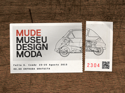 Moda ticket lisbon souvenir vintage retro worn ticket mude lisboa portugal travel