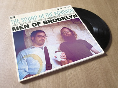 Men of Brooklyn music brooklyn album vinyl cover fun