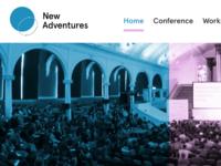 New Adventures rebrand