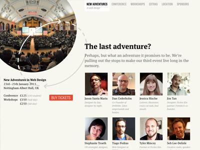 New Adventures 2013 naconf new adventures meta serif