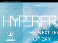 O'Neill Product Landing