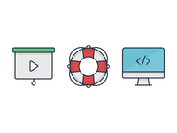 Icons for Web Project