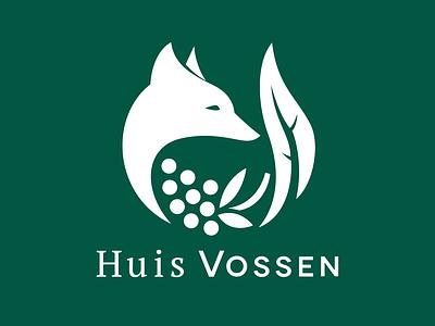 Huis Vossen - logo joren brosens logo design illustration design fox branding branding agency logodesign logo illustration
