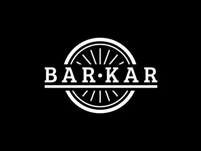 Barkar - logo brand identity branding agency joren brosens graphicdesign branding illustration logo bar cart