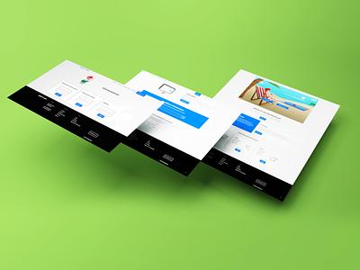 Webdesign Realityhost website design website web design icon ux vector blender 3d illustration uiux ui webdesign