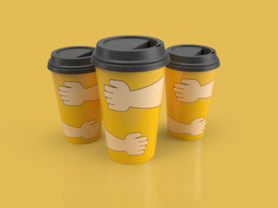 Cold drink cup design