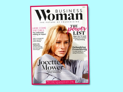 Business Woman magazine cover