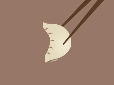 D for dumpling