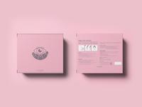 Eye patch packaging design