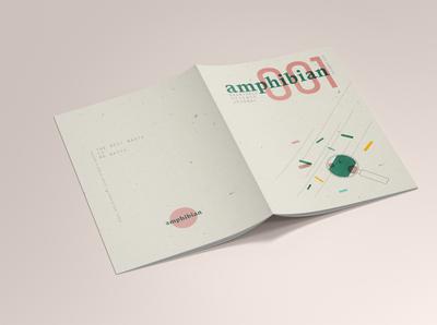Journal Cover: Back // AMPHIBIAN