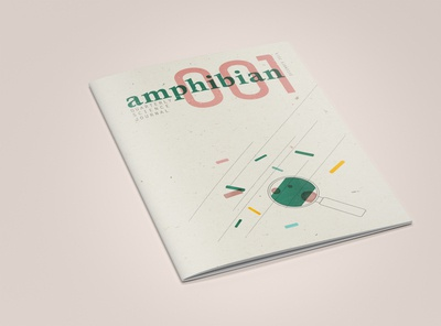 Journal Cover: Front // AMPHIBIAN