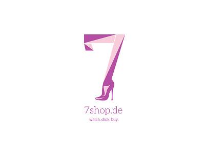 Logo 7shop design logo